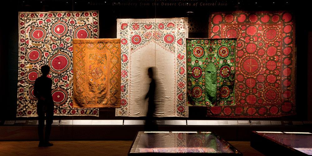 Das Dresdner Damaskuszimmer und Wohntextilien aus dem Orient