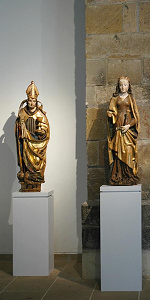 Gotische Skulptur in Sachsen
